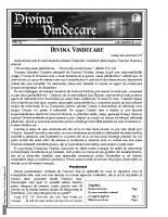 Revista Divina Vindecare Nr (84)