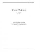 Revista Divina Vindecare Nr (16)
