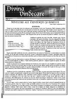 Revista Divina Vindecare Nr (37)
