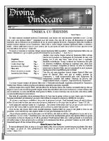 Revista Divina Vindecare Nr (40)