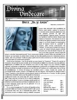 Revista Divina Vindecare Nr (43)