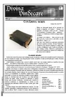 Revista Divina Vindecare Nr (44)