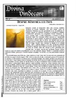 Revista Divina Vindecare Nr (48)