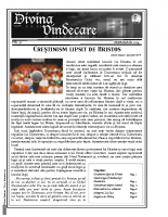 Revista Divina Vindecare Nr (50)