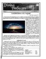 Revista Divina Vindecare Nr (58)