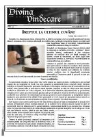 Revista Divina Vindecare Nr (59)