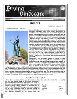 Revista Divina Vindecare Nr (60)