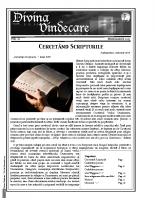 Revista Divina Vindecare Nr (62)
