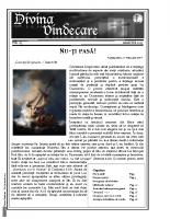 Revista Divina Vindecare Nr (63)