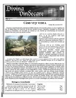 Revista Divina Vindecare Nr (70)