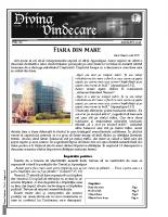 Revista Divina Vindecare Nr (80)