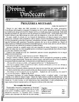 Revista Divina Vindecare Nr (81)